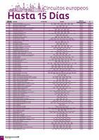 Portada Catálogo Europamundo Europa