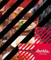 Portada Catálogo Archie's Menú