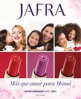 Portada Catálogo Jafra Temporada