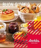 Portada Catálogo Archie's Menú Desayunos